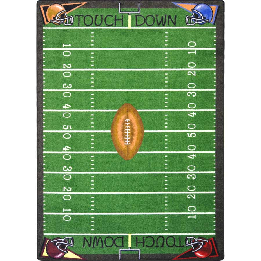 Football Fun 7 feet 8 inches x 10 feet 9 inches
