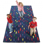Footprints Kids Rug 12 x 6 feet
