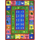Lengualink Kids Rug 5 feet 4 inches x 7 feet 8 inches - French