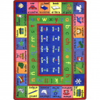 Lengualink Kids Rug 5 feet 4 inches x 7 feet 8 inches - Spanish