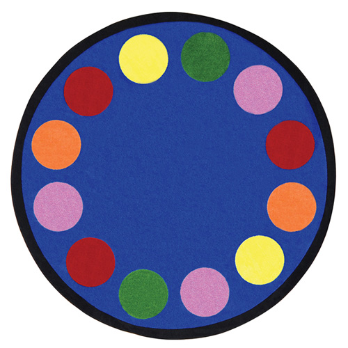 Lots Of Dots 7 feet 7 inches round