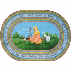 Marys Lamb Kids Rug 7 feet 8 inches x 10 feet 9 inches