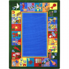 My Favorite Rhymes Kids Rug 5 feet 4 inches x 7 feet 8 inches