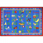 Phonics Fun Kids Rug 5 feet 4 inches x 7 feet 8 inches