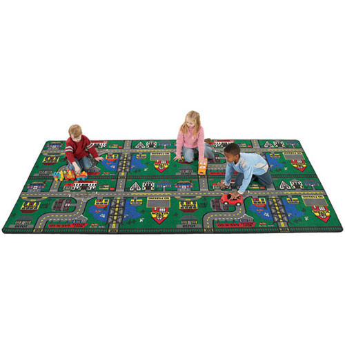 Places To Go Kids Rug 3 x 6 feet