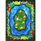 Puddle Ducks Kids Rug 3 feet 10 inches x 5 feet 4 inches