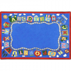 Reading Train Kids Rug 7 feet 7 inches