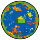 Sea Hunt Kids Rug 6 feet Round thumbnail