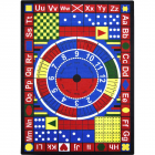 Teach-A-Tot Kids Rug 7 feet 8 inches x 10 feet 9 inches