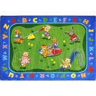Teddy Bear Playground Kids Rug 3 feet 10 inches x 5 feet 4 inches