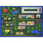 Tiny Town Kids Rug 5 feet 4 inches x 7 feet 8 inches
