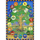 Tree Of Life Kids Rug 5 feet 4 inches x 7 feet 8 inches
