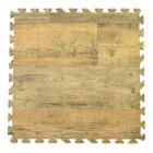 Rustic Wood Grain Foam Tile