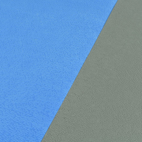 Life Floor Super Grip Ripple Tiles 3/8 Inch bluebird and gray.