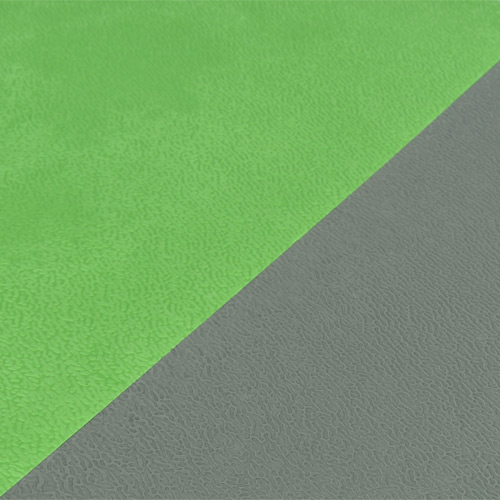 Life Floor Super Grip Ripple Tiles 3/8 Inch lime and gray.