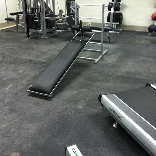 Rubberlock Floor Tiles All Sizes per SF weight room.