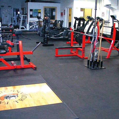 Rubberlock Floor Tiles All Sizes per SF rubber flooring weight room.