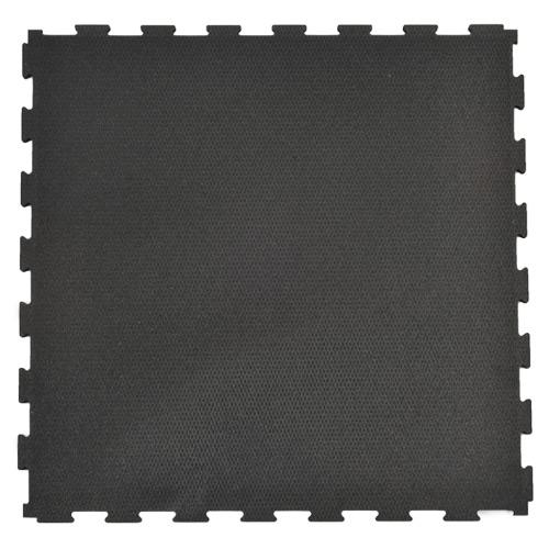Rubber Gym Floor Tile X Ft Black Rubber Tile Kit - 12 x 12 rubber floor tiles
