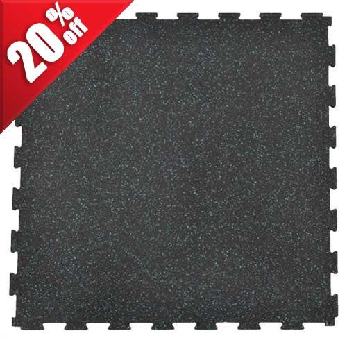 Rubberlock 2x2 Ft 3/8 Inch Colors No Bevel Tile.