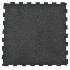 Rubber Tile Diamond 2x2 Ft 3/8 Inch Colors