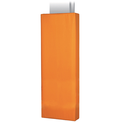 Channel-Style I-Beam orange pad.