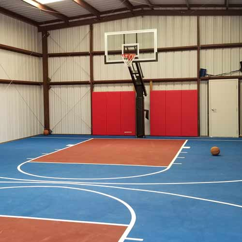 Basketball Court Wall Padd Christopher Moss Testimonial