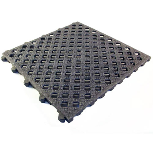 Safety Grit Top Matta Perforated flooring tiles.