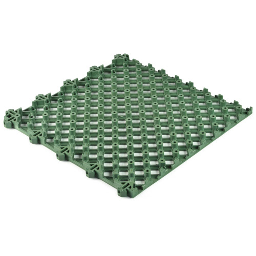 Safety Matta Perforated Green bottom.
