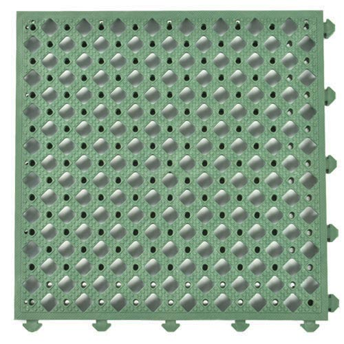 Safety Matta Perforated Green