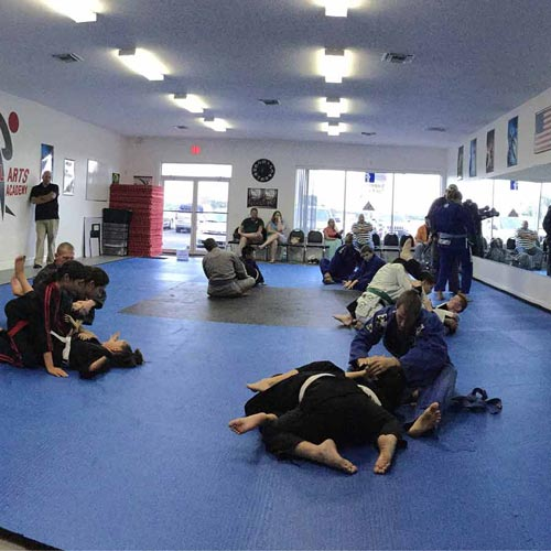 Grappling Mat Gym