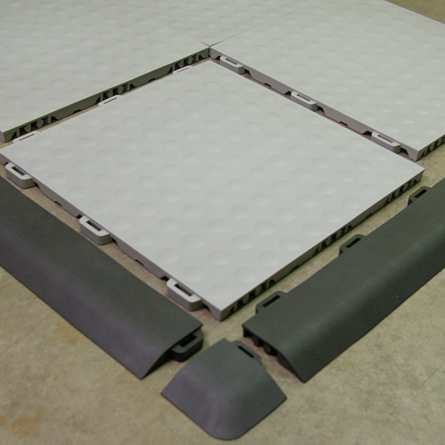 Aerobic Ergonomic Flooring Staylock Bump Floor Tile