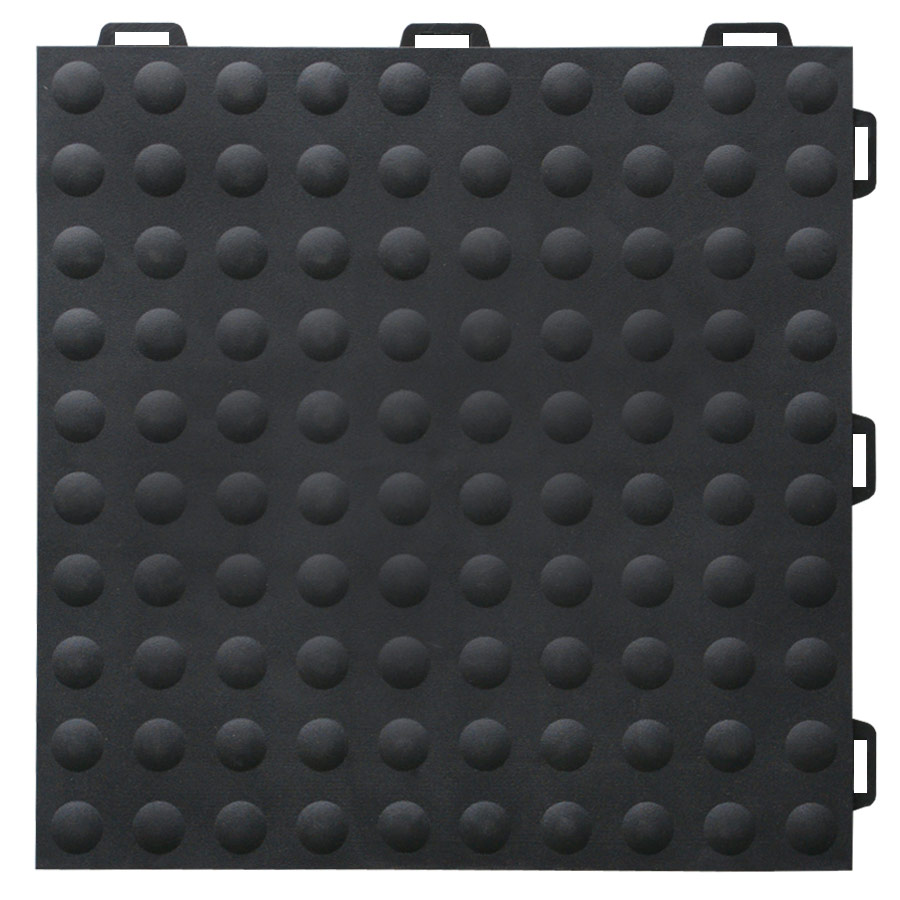 StayLock Bump Top Black tile.