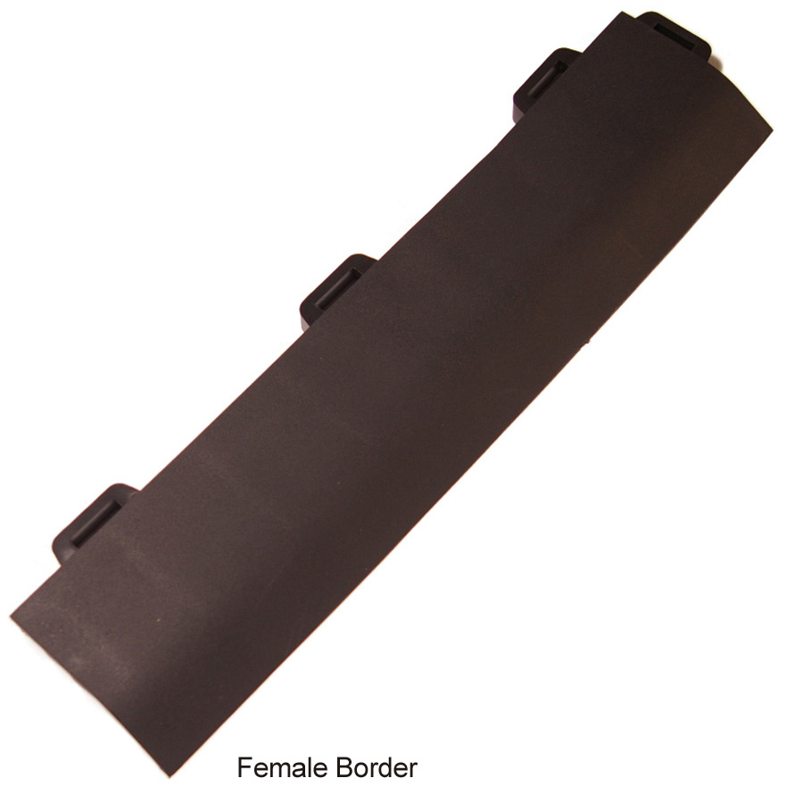 StayLock Border Black female border.