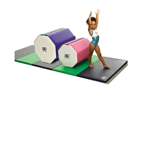Octagon Shapes Gymnastic Mats in use