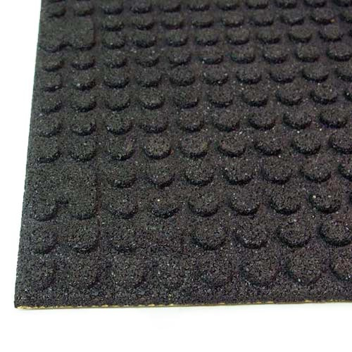 UltraTile Rubber Weight Floor Tile bottom of tile