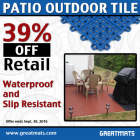 Patio Outdoor Tile