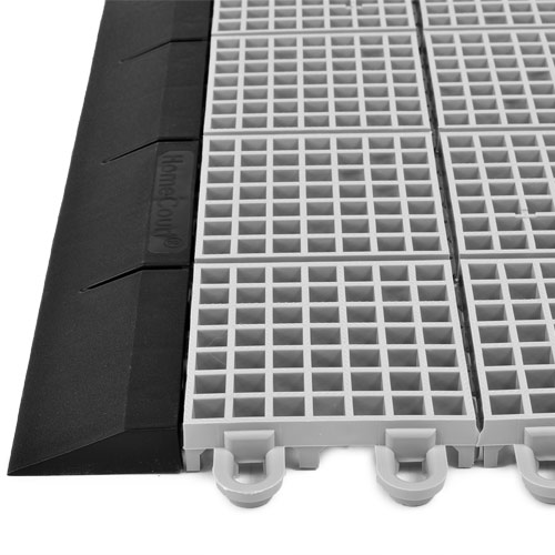 Borders For Outdoor Court Tiles Mt2 And Xt3 Ramped Edge