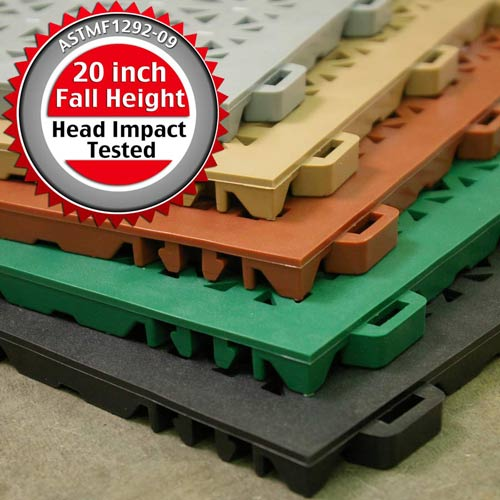 StayLock Perforated Colors fall height seal.