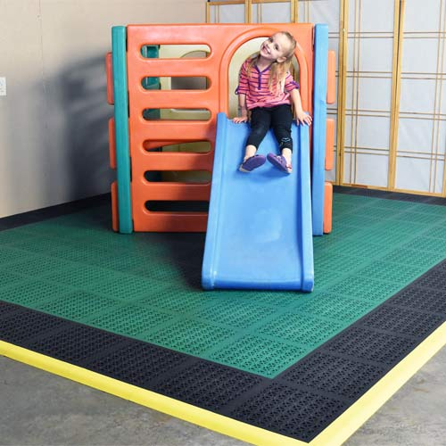 Playground Tile Flooring Fall Height Ratings