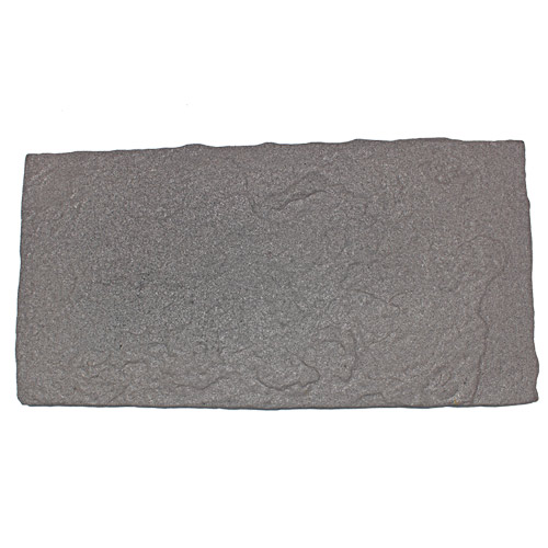 Flagstone Rubber Paver Tile Full 36 x 18 inch Full Grey