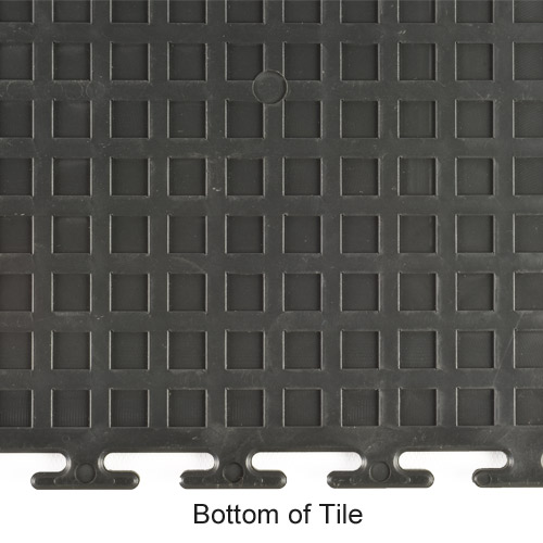 Coin Top Home Floor Tile Black or Dark Gray 8 tiles bottom.