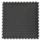 Coin Top Home Floor Tile Black or Dark Gray 8 tiles