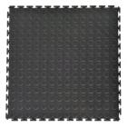 Coin Top Home Floor Tile Black or Dark Gray 8 tiles