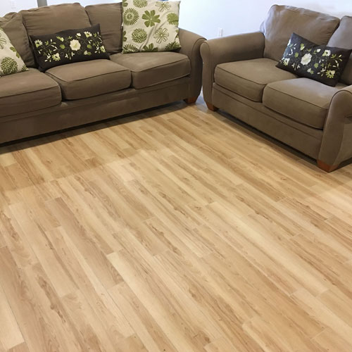 Wood Grain Plank Floor Modular Floor Tiles