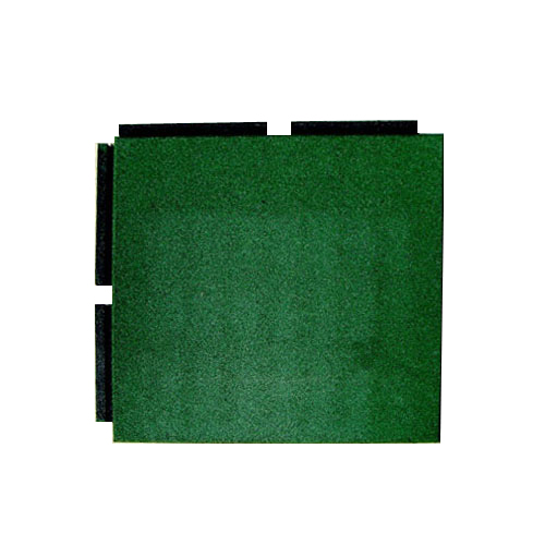 Blue Sky Playground Interlocking Tile standard green.