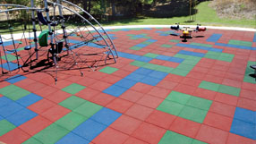 Playground Flooring Options and Ideas