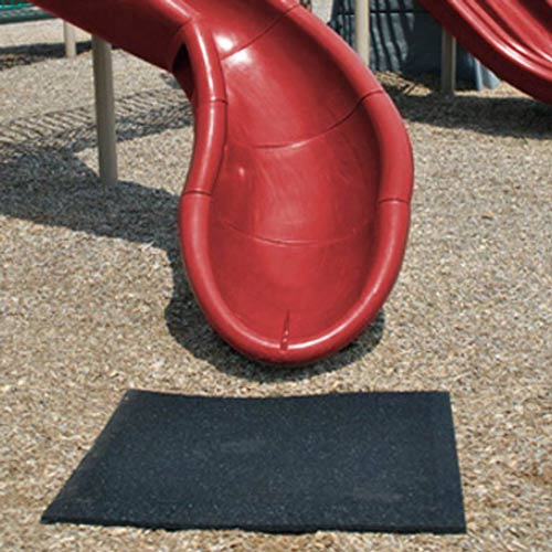 Playground Mats im showing slide mat.