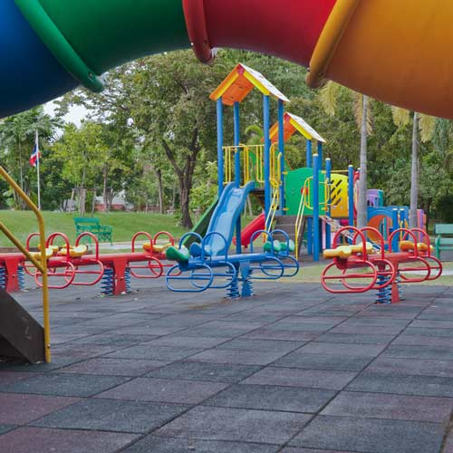 What Are The Best Outdoor Rubber Playground Tiles Mats