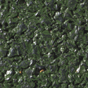 MX Rubber Tile 1 inch green color swatch.