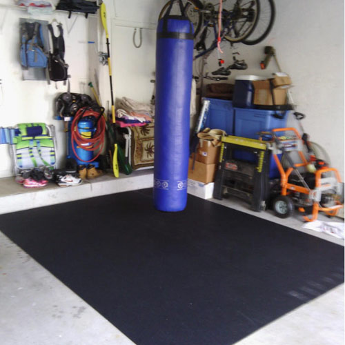Plyometric flooring roll home plyo mat